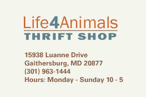 Life 4 Animals Thrift Store for Pets